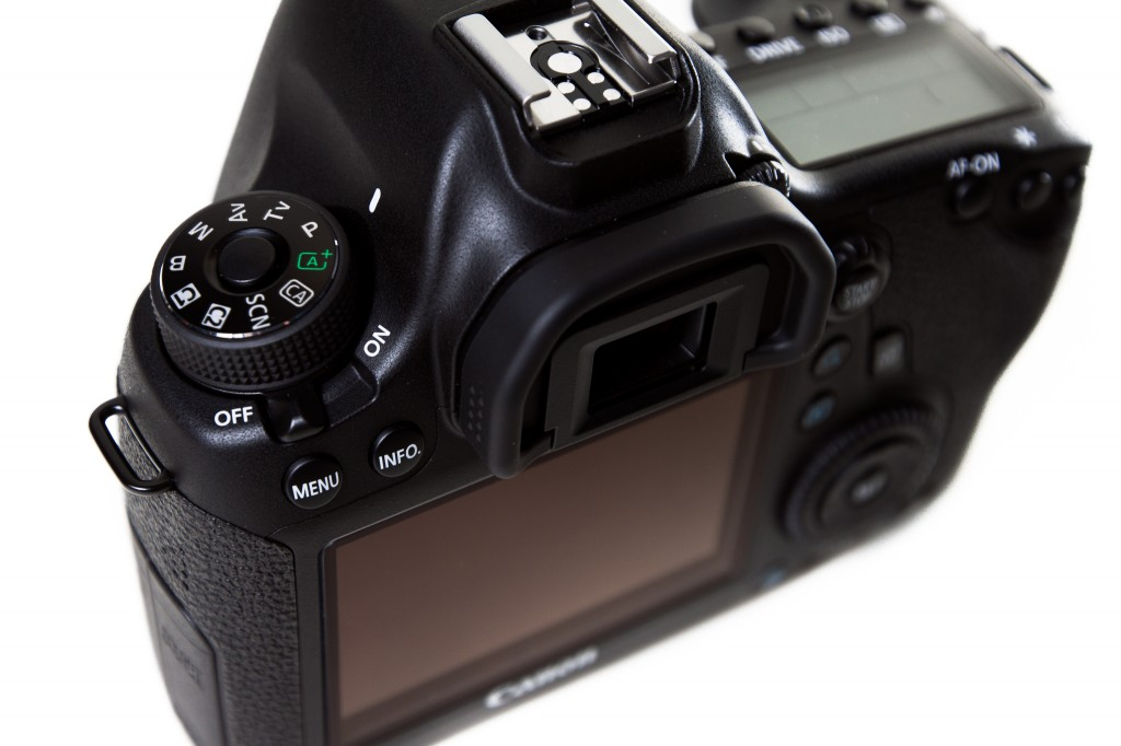Canon 6D Mode Dial