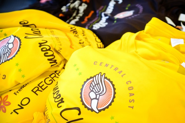central coast cancer challenge race t-shirts