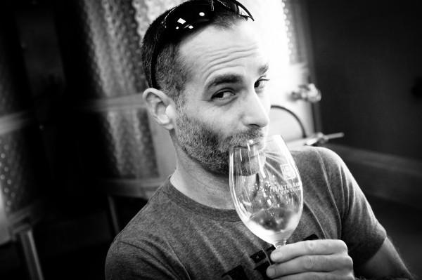 Andrew tasting wine