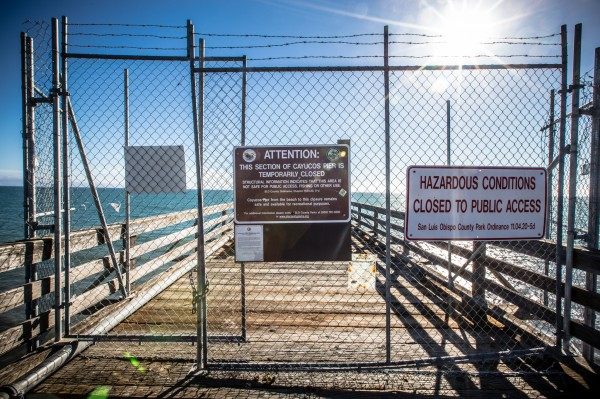 cayucos pier closure