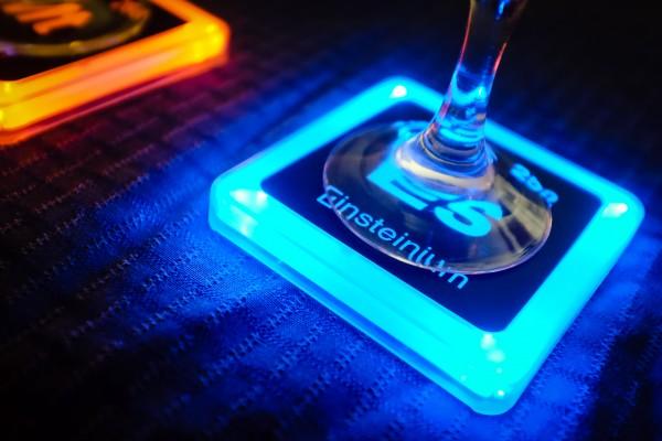 einsteinium coaster