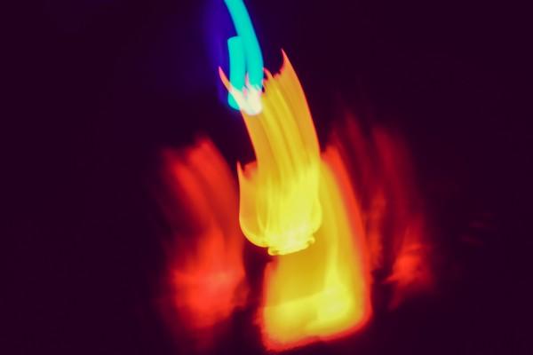 digital campfire | photograph by Brian J. Matis