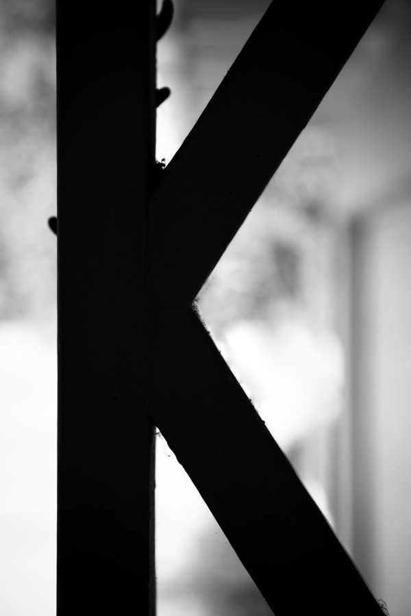 letter K | photograph by Brian J. Matis