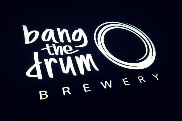 bang the drum brewery sign | photograph by Brian J. Matis