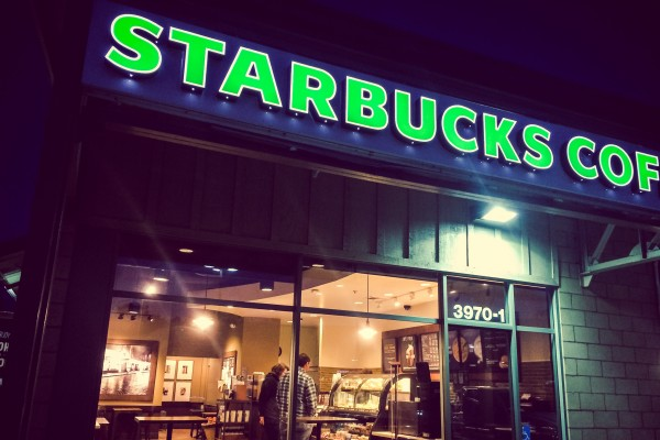 starbucks | photograph by Brian J. Matis