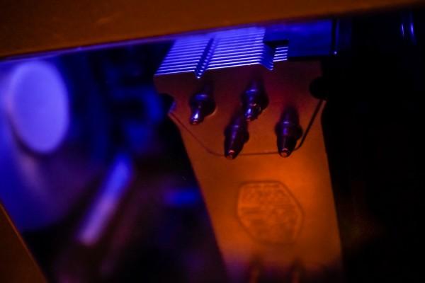 computer heat sink | photograph by Brian J. Matis