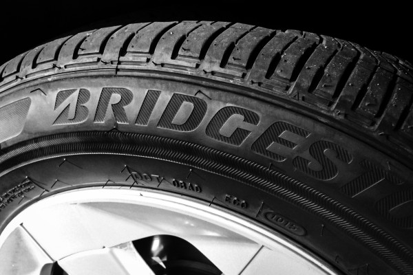 bridgestone tire | photograph by Brian J. Matis