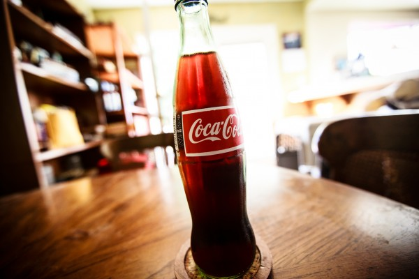 coca-cola bottle | photograph by Brian J. Matis