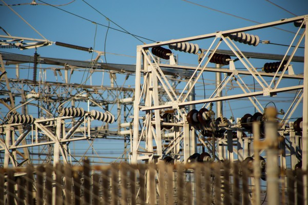 electricity station | photograph by Brian J. Matis
