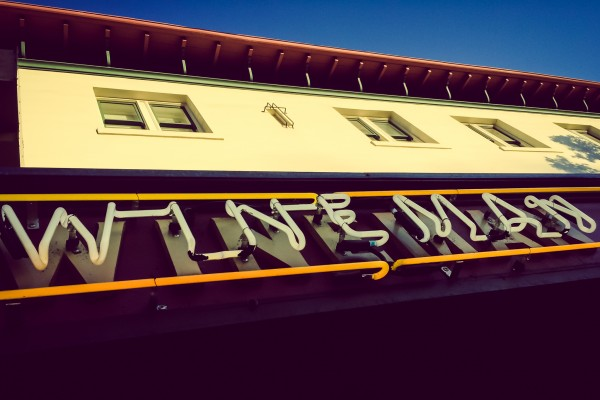 wineman hotel sign | photograph by Brian J. Matis