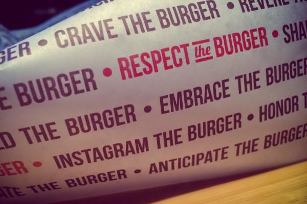 habit burger wrapper | photograph by Brian J. Matis